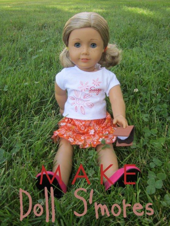 Make Doll S'mores
