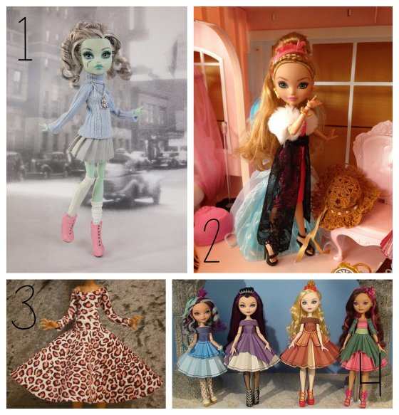 Ever After High / Monster High Style