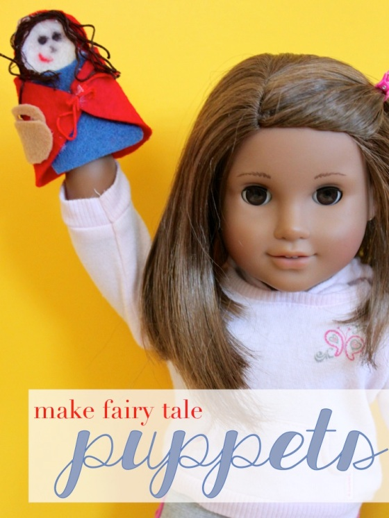 Make Fairy Tale Puppets