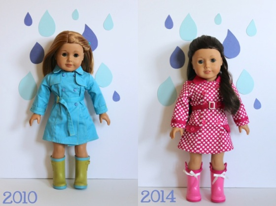 2010 and 2014 Raincoat Sets