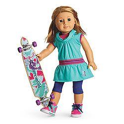 Skateboarding Set