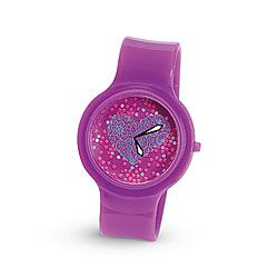 Violet Heart Watch