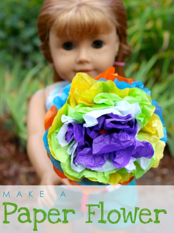 Make Paper Flowers