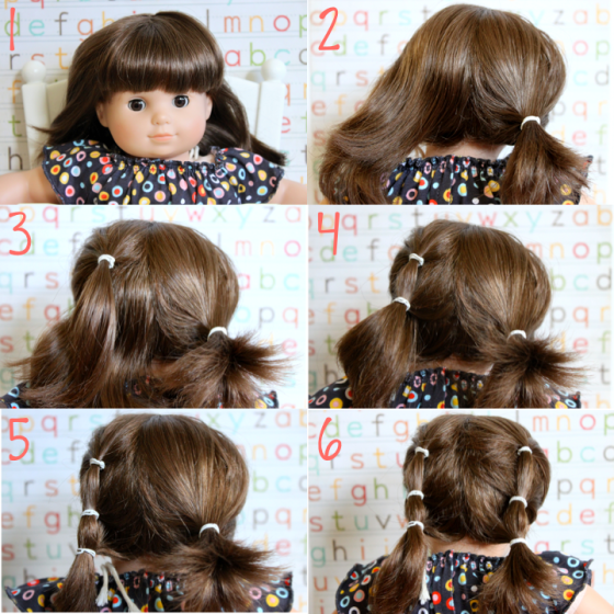 Lucy Hairstyle Step by Step