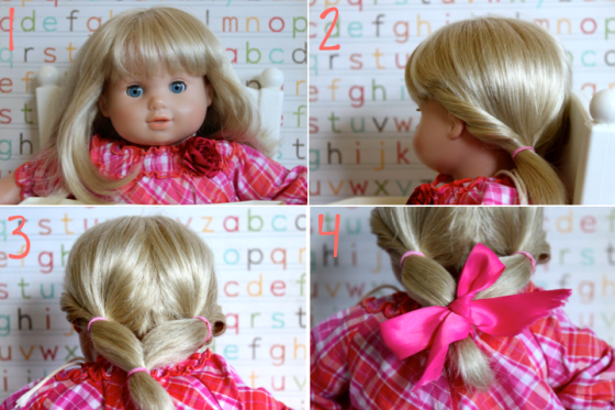 Bridget Hairstyle Step by Step