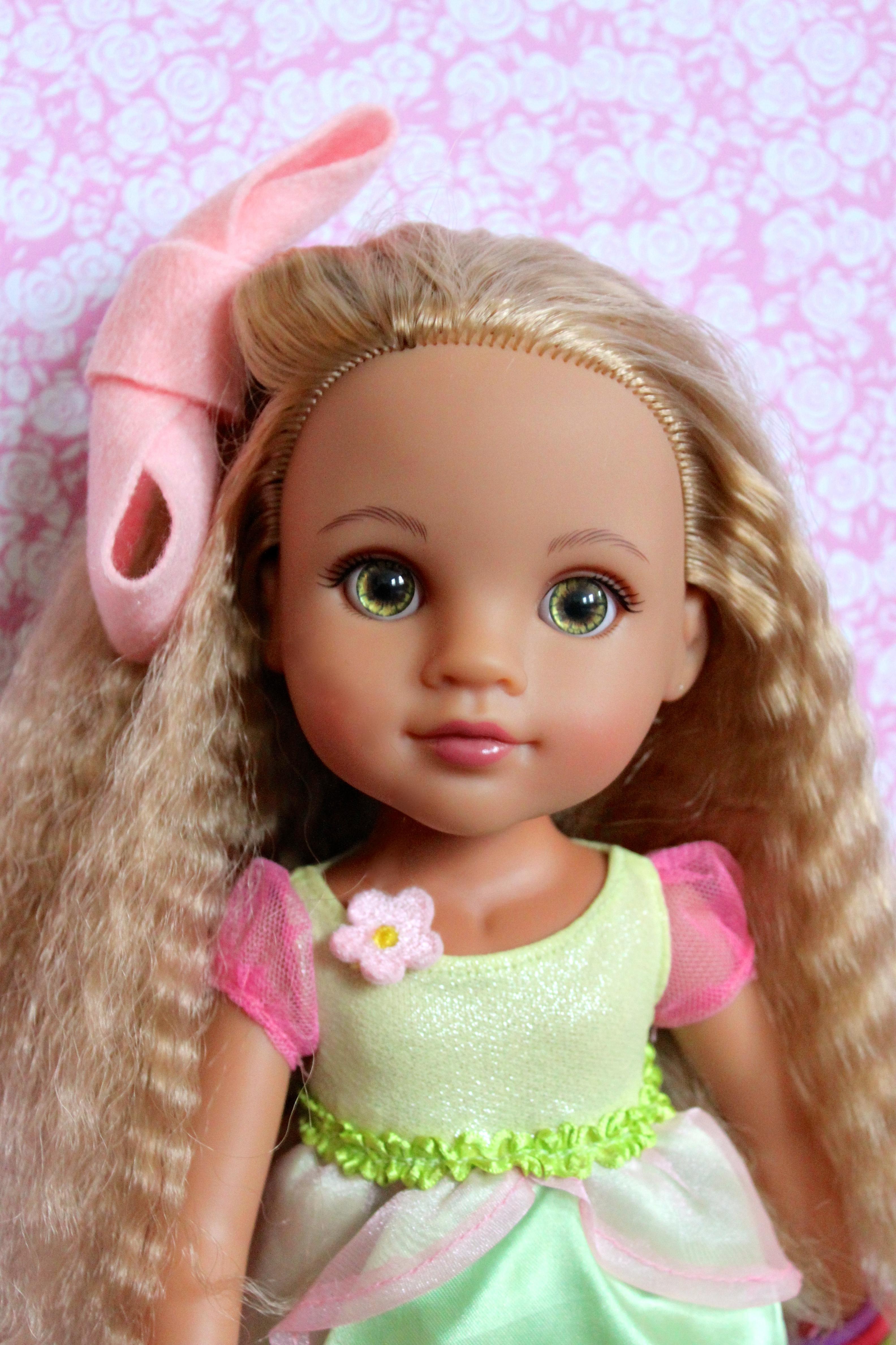 Hair Style Doll : Fashion Week / Make A Doll Hair Bow Doll Mag