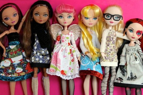 EAH Dolls in Dresses