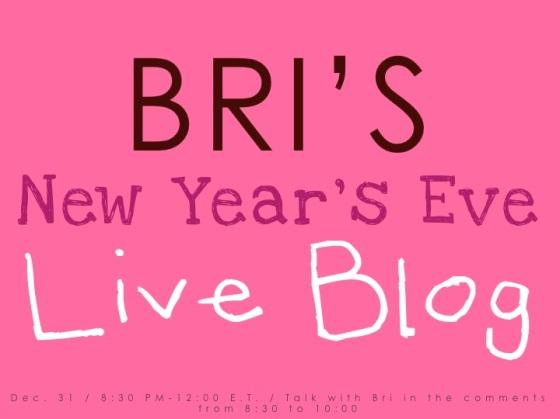 Bri's Live Blog