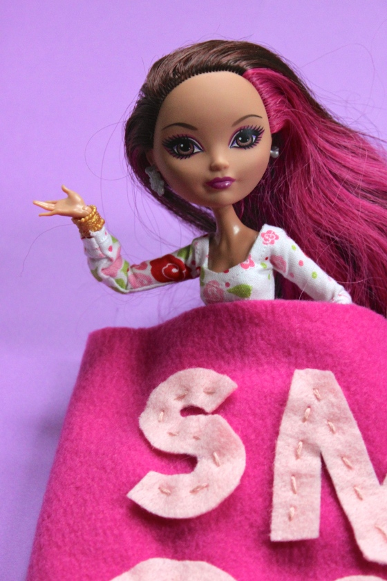 Make a Doll-Sized Sleeping Bag