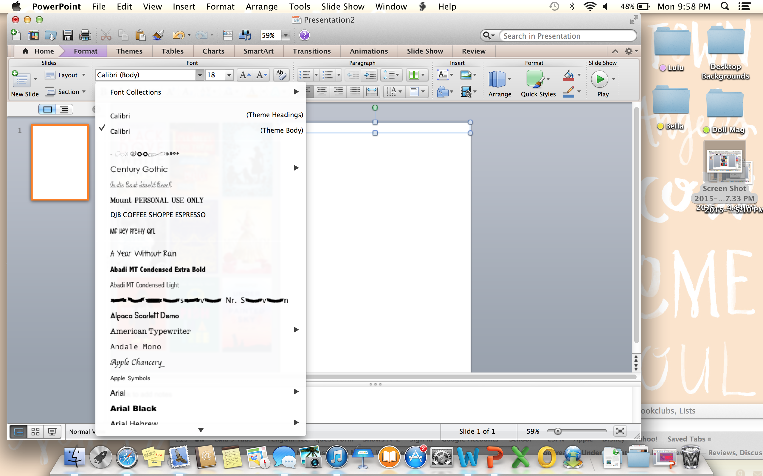 Изменение размеров слайдов - Служба поддержки Office 64