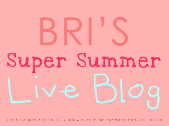 Bri Live Blog