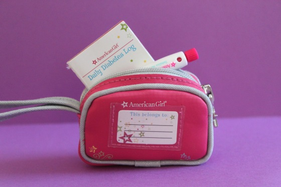 American Girl Diabetes Kit and Bag