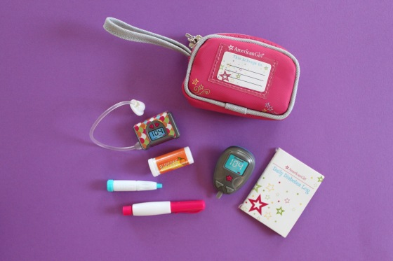 American Girl Diabetes Kit
