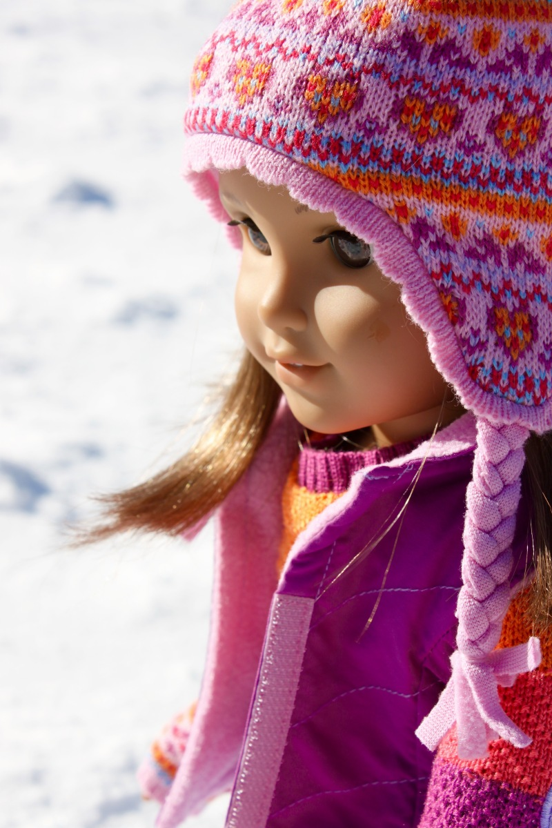 Louisa in the Snow