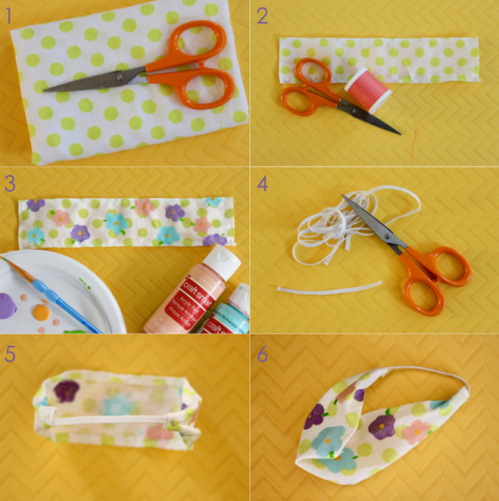 Step by Step Headband